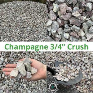 Champagne 3/4 Crush