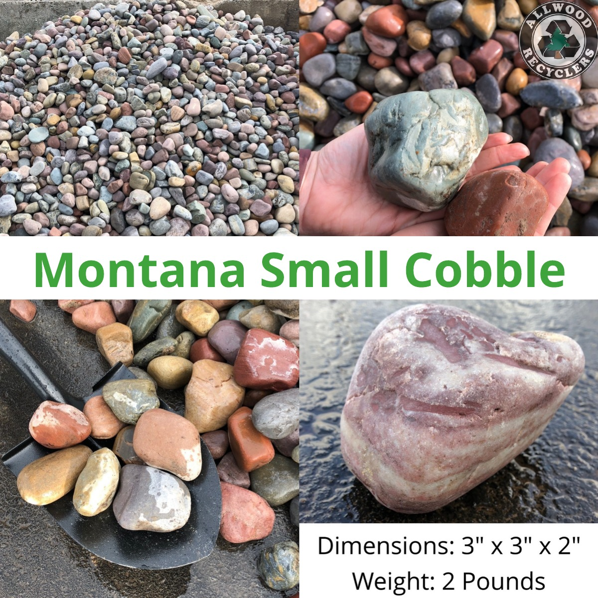 Montana Small Cobble