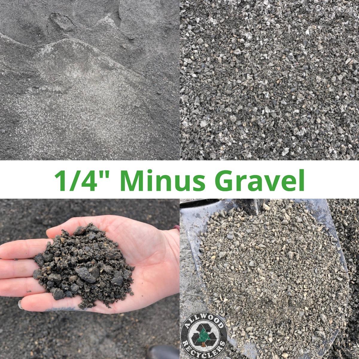 1/4 Minus Gravel