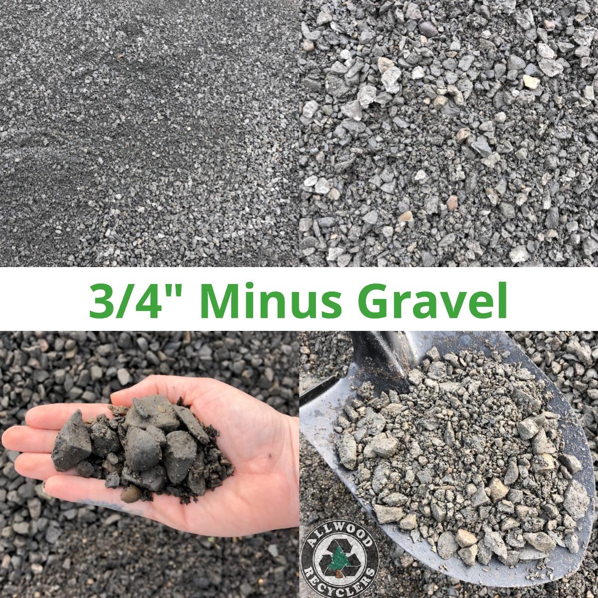 3/4 Minus Gravel