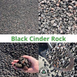 Black Cinder Rock