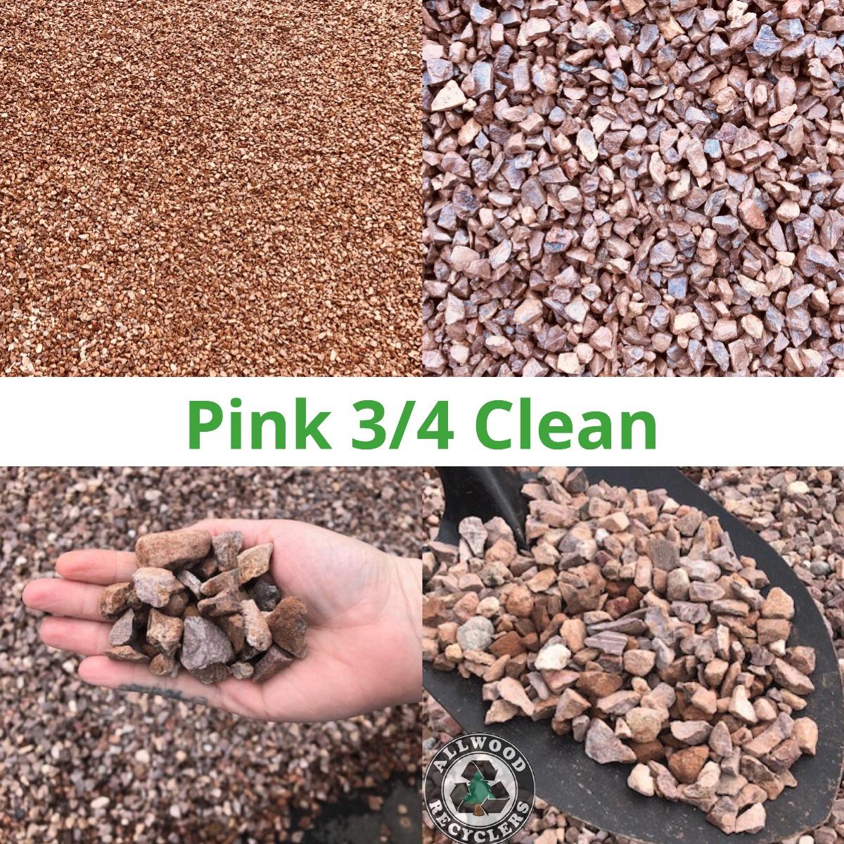 Pink 3/4″ Clean
