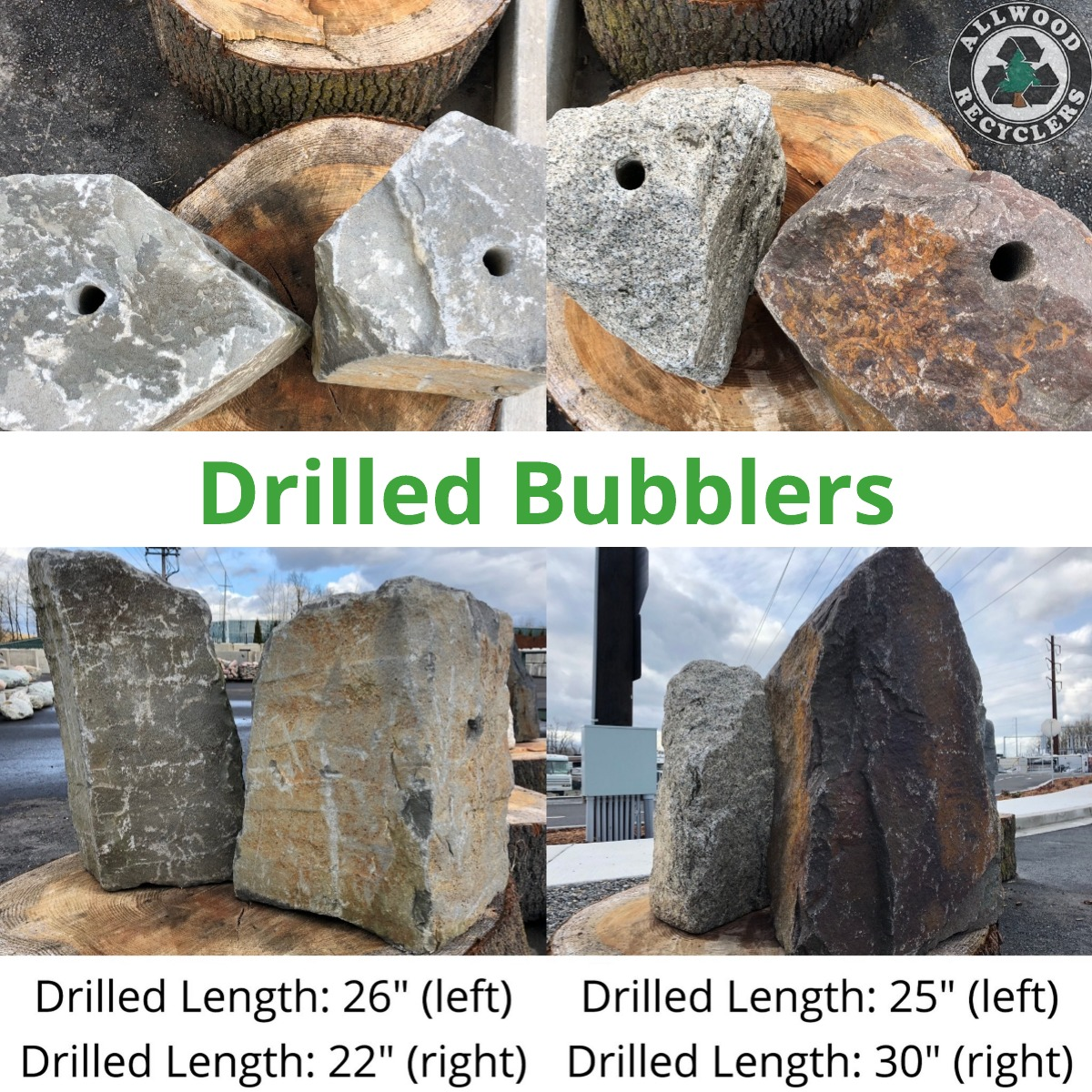 Drilled Bubblers