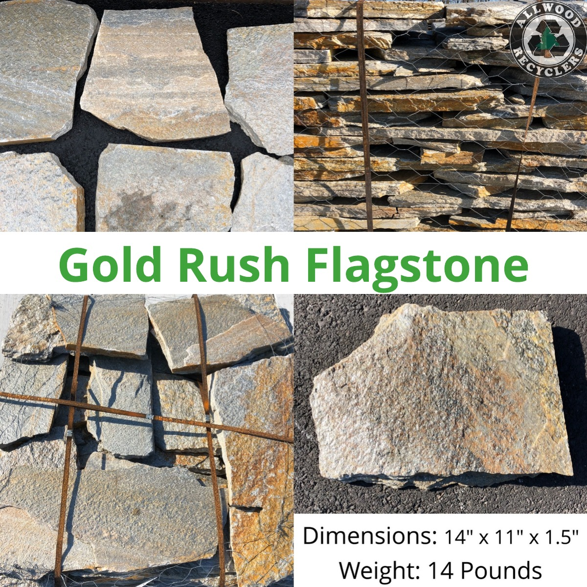 Gold Rush Flagstone