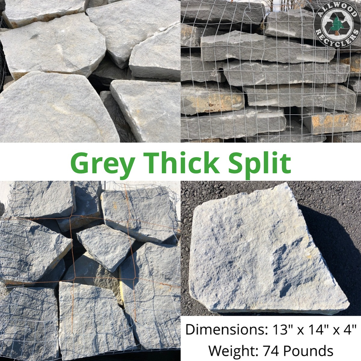 Grey Thick Split