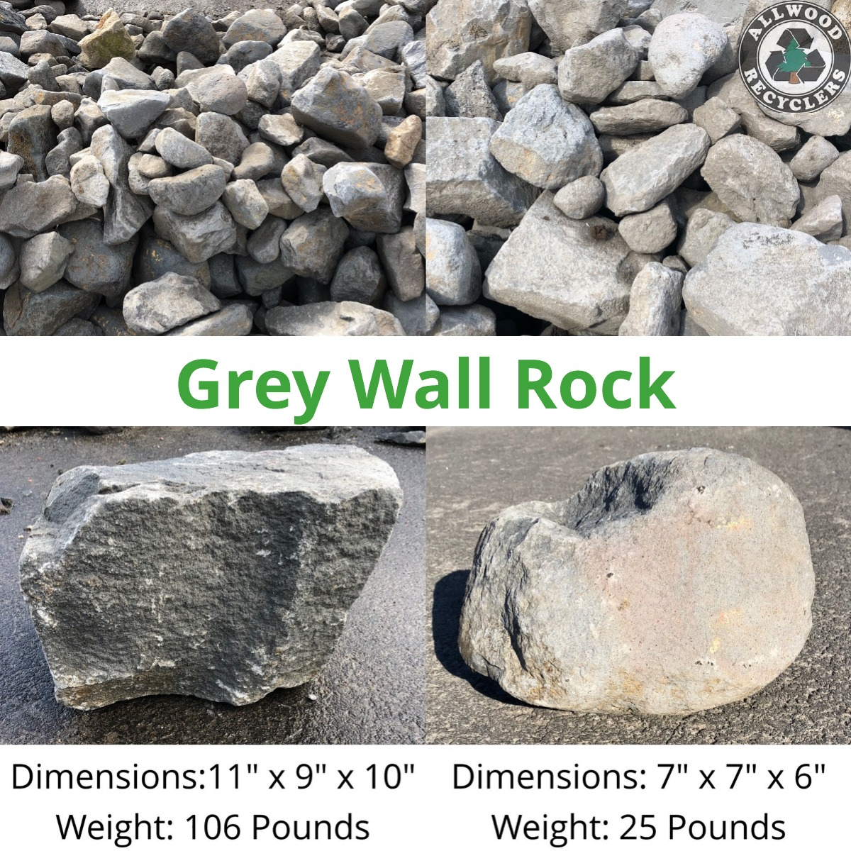 Grey Wall Rock