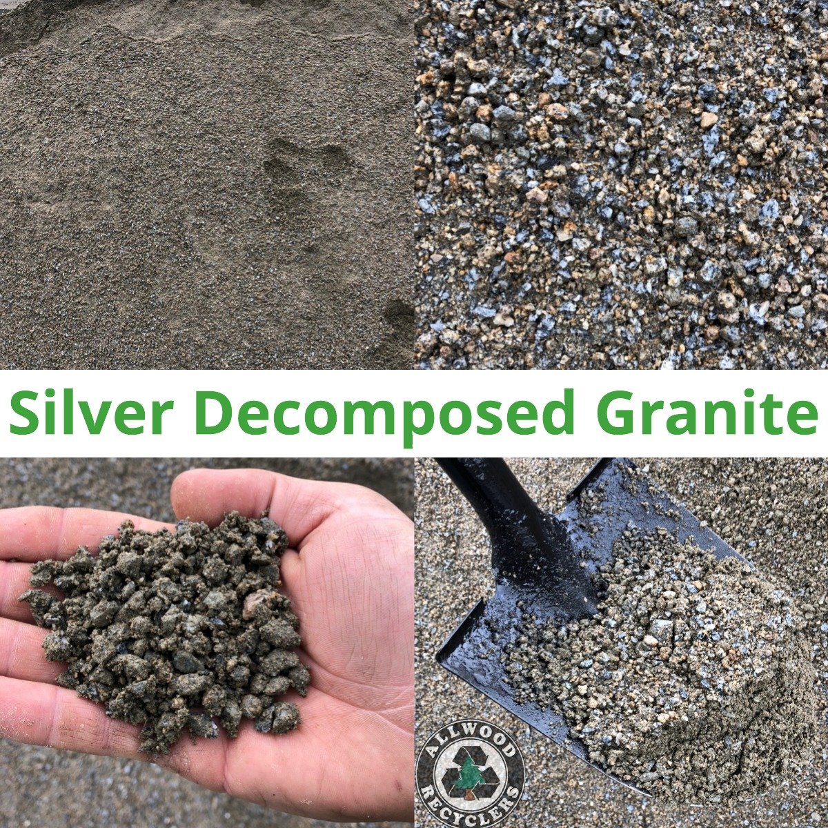Silver Decomposed Granite