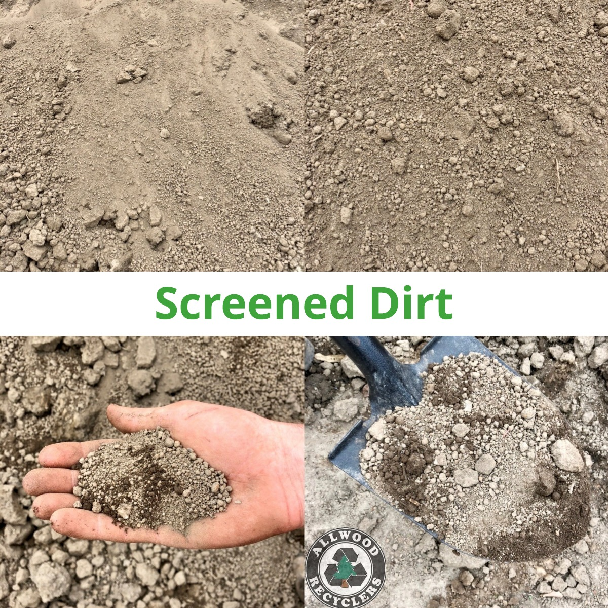 Screened Dirt