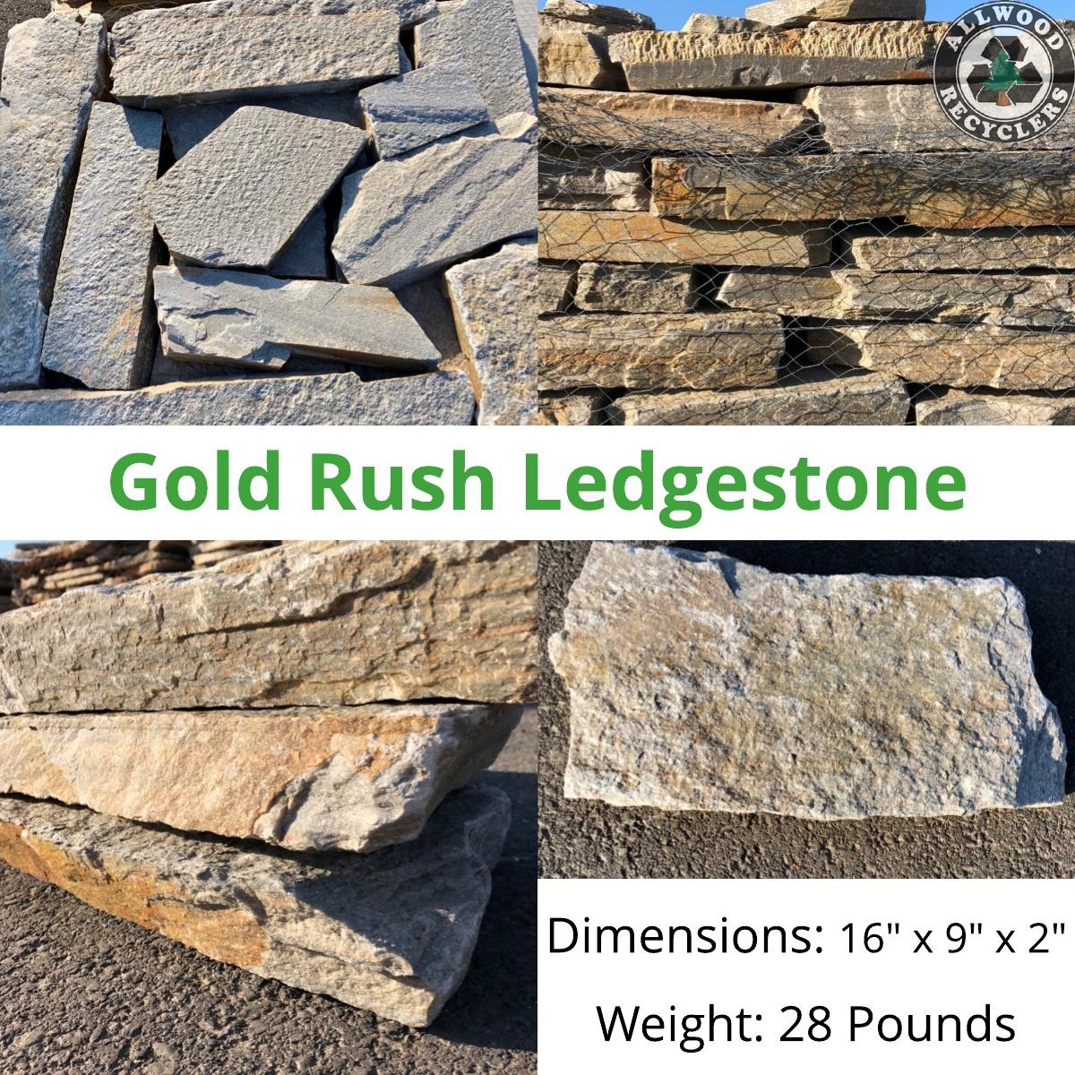 Gold Rush Ledgestone