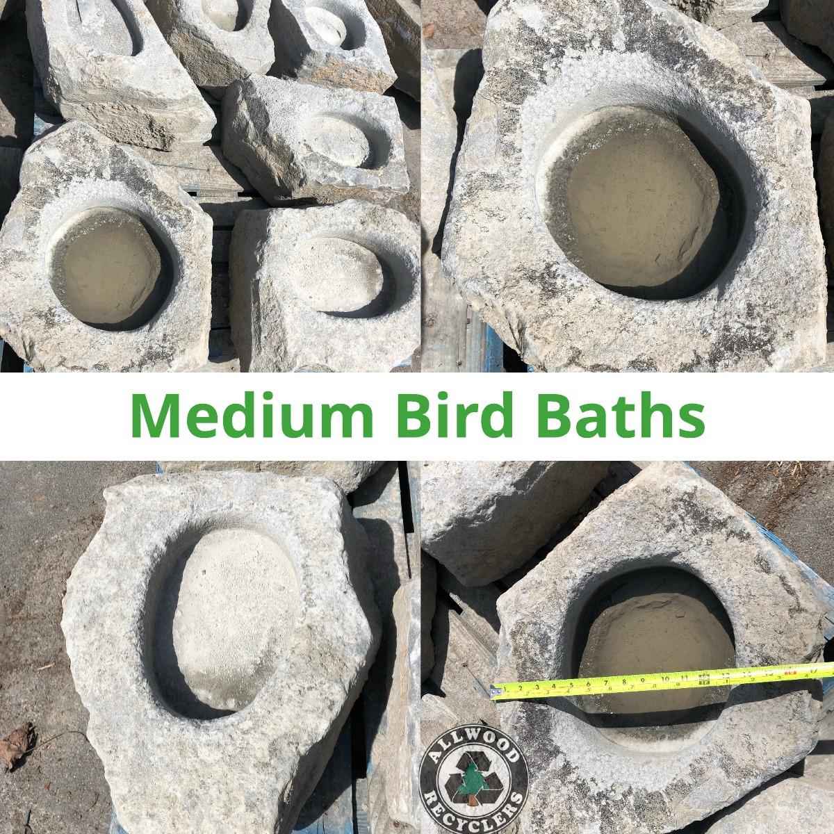 Medium Bird Baths