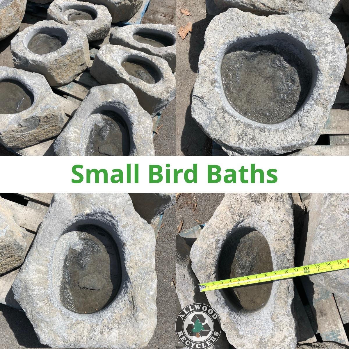Small Bird Baths